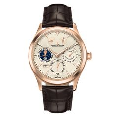 Jaeger-LeCoultre Master Eight Days Perpetual Rose Gold (1612420)