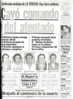La tercera: captura de frentistas que ejecutaron el atentado a Pinochet en 1986