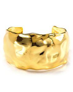 Alexis Bittar Liquid Gold Cuff