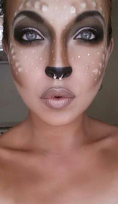 Cute bambi makeup