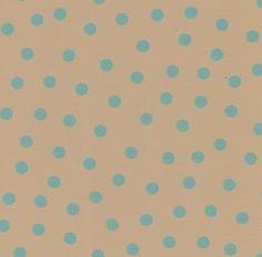 Mexicaans tafelzeil Lunares Beige met blauwe stippen - Mexicaans beige tafelzeil met blauwe stipjes van 1cm. Het tafelzeil van Kitsch kitchen is oerdegelijk en is dus ideaal geschikt om mee te knutselen. Maar natuurlijk ook perfect als tafelkleed op de keukentafel! Te bestellen vanaf 50 centimeter.