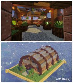 Minecraft Cottage, Minecraft Farm, Minecraft Mansion, Cute Minecraft Houses, Minecraft Plans, Amazing Minecraft, Minecraft House Designs, Minecraft Construction, Minecraft Survival