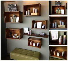 "by Annika on Facebook. ""#davinesnorthamerica #VersedSalon Our More Inside Display. Love Davines!"""