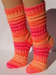 Knitting Patterns Socks Ravelry: Project Gallery for Mojo sock pattern by Donyale Grant free pattern knitting Knitting Patterns Free, Free Knitting, Free Pattern, Crochet Socks, Knit Or Crochet, Knitting Socks, Knit Socks, Easy Knitting Projects, Knitting