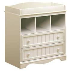 Savannah Changing Table - Pure White