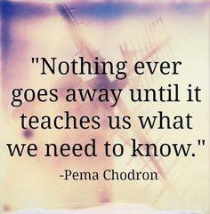 Life is always teaching us.....