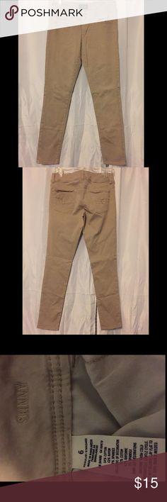 American eagle jegging jeans Khaki American eagle jeggings never worn American Eagle Outfitters Jeans