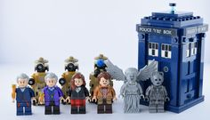 All my own minifigures of Doctor Who and Daleks ! Original picture by me