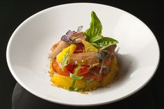 Matteo Bergamini's Tuna Bottarga and Navel Orange Salad - The Chefs Connection #appetizers #tuna #chefs