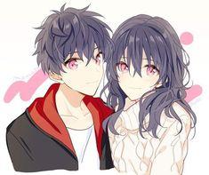 Anime Couples Cuddling, Anime Couples Hugging, Anime Couples Drawings, Anime Couples Manga, Anime Sisters, Anime Siblings, Fanarts Anime, Anime Characters, Anime Cosplay