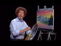 Bob Ross - Gray Mountain (Season 24 Episode 1) - YouTube                                                                                                                                                                                 More