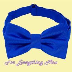 Royal Blue Formal Groomsmen Groom Wedding Mens Neck Bow Tie