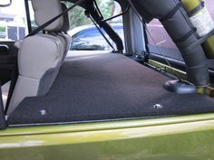 Cheap Mod - Cover for back/trunk of Jeep Wrangler JK