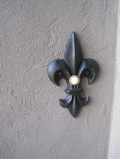 Fleur De Lis Doorbell Cover   And I Know A Couple Of People That