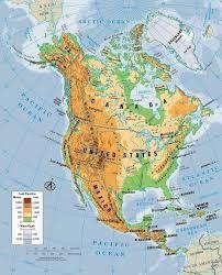 Mapa Interactivo De America Del Norte.En Este Mapa Aprenderas A Situar Correctamente Las