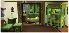 thesims3store:  Animals Abound Playground Bed + Bath.rar (15.1MB) 25 .package files with previews Download:[Adf.ly//Mega]