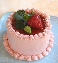 Strawberry Mini Cake | Flickr - Photo Sharing!