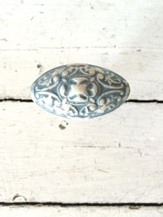 Add a personal touch to doors, cabinet doors, dresser doors and more with these rustic, decorative knobs. Ceramic material with an antiqued, slate blue wash. Dresser Drawer Pulls, Dresser Knobs, Cabinet Drawers, Dresser Drawers, Cabinet Doors, Handmade Accessories, Home Decor Accessories, Decorative Knobs, Ceramic Materials