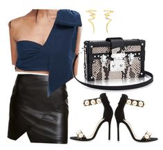 """""""Weekend: Night out with da girls"""" by alvinaginting on Polyvore featuring SKINN, ASOS, Louis Leeman and Tiffany & Co."""