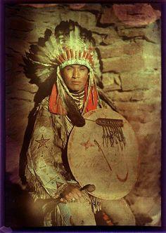 5-11-11  Indien d'Amérique - Native American Man - 1910