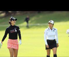 Golf Wear, Lpga, Golfers, Ladies Golf, Golf Tips, Asian Woman, Mini Skirts, Korean, Australia
