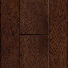 Handscraped Bourbon Hickory Flooring By Style Selections