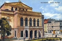 Bucharest Romania, Beautiful Architecture, Vintage Postcards, Notre Dame, The Past, Europe, Memories, Mansions, Country