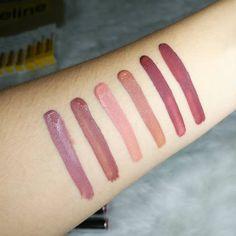 NEW Careline Matte Liquid Lipstick Swatches + Mini Review! ft LunaLinaBeauty lip swatches #carelinegirlgang #bettterthanbasic Lipstick Swatches, Liquid Lipstick, Girl Gang, Mini