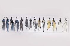 Fashion Sketchbook - fashion design drawings; fashion sketches; fashion student portfolio // Jeaninne Intriago