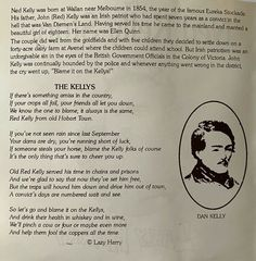 Eureka Stockade, Van Diemen's Land, Ned Kelly, British Government