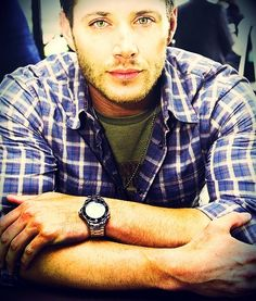 Jensen Ackles. Those eyes! <3