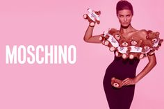 Moschino TOY ad campaign: shot by Steven Meisel, styled by Carlyne Cerf De Dudzeele and starring Isabeli Fontana! Find it at http://bit.ly/moschinotoy!
