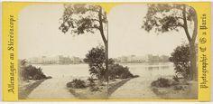 Charles Gerard | Hambourg (ville libre), Vue sur l'Alster, Charles Gerard, 1860 - 1870 |