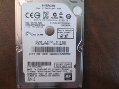 Hitachi HTS547550A9E384 PN:0J27701 MLC:DA4755 Apple#655-1683C 500gb Sata 56G0UN5C (T) - Effective Electronics #data recovery #hard driver epair #computer repair #hard drives #hard drive parts #hitachi