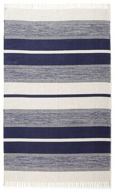 Love this rug by exquisite rugs http://www.horchow.com/p/Exquisite-Rugs-Blasio-Stripes-Flatweave-Rug/cprod90860013/?ecid=HCALRFeed_src=14110925_sku=cprod90090009skuBROWNWHITE