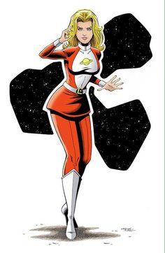 Saturn Girl by Chris Ring #ChrisRing #SaturnGirl #ImraArdeen #Titan #LoSH #legionofsuperheroes