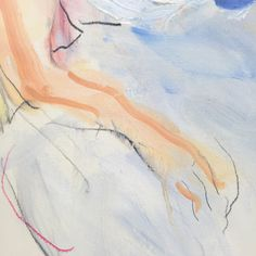 This is a study of a girl reclining. It is oil and pastel and turpentine on paper. Good paper, stuff that doesn't bleed - maybe next time I want it to. Studio, Abstract, Paper, Artwork, Painting, Summary, Work Of Art, Auguste Rodin Artwork, Painting Art