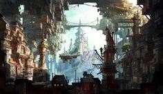 steampunktendencies:  Steampunk Artwork by Avant Choi