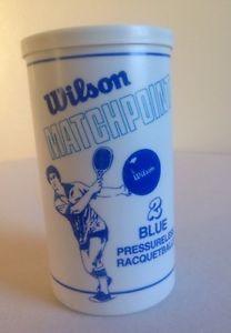 Wilson Matchpoint Pressureless Racquetballs RARE Vintage Unopened SEALED | eBay