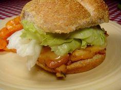 Ham and Cheese Chicken Sandwich
