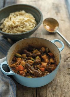Venison sausage stew. Not sure if I'd like venison but even as a sausage stew this looks tasty.
