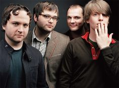 ... i like their music! (Death Cab for Cutie - a lack of color, i will follow you into the dark)