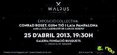 Flyer expo colectiva The Walrus Hub