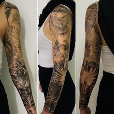 Beautiful+black+and+grey+ink+sleeve+by+Jieny