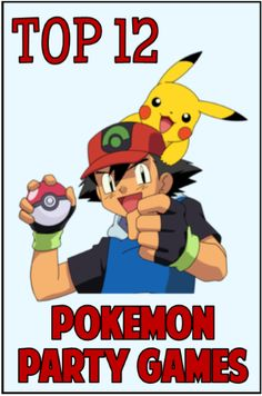 Pokemon party games for DIY parents looking for ideas to throw their child a funtastic themed Birthday bash