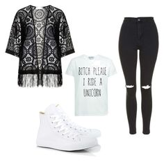 """Untitled #20"" by lookdodia00 on Polyvore featuring Zizzi, Topshop and Converse"