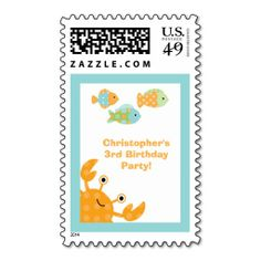 >>>The best place          Fun cute under the sea birthday party stamps           Fun cute under the sea birthday party stamps online after you search a lot for where to buyShopping          Fun cute under the sea birthday party stamps please follow the link to see fully reviews...Cleck Hot Deals >>> http://www.zazzle.com/fun_cute_under_the_sea_birthday_party_stamps-172664174396486922?rf=238627982471231924&zbar=1&tc=terrest