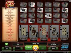 Hundreds of top international games, rewarding promotions and jackpots, user-friendly games to play, top security measures and support. International Games, Jokers Wild, Video Poker, Poker Games, Games To Play, Entertaining
