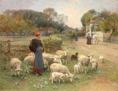 Italian-Swiss Luigi Chialiva (1842 - 1914)
