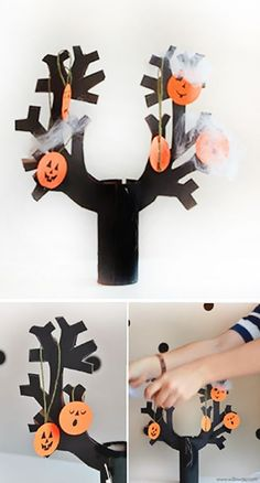 Halloween Printable | Make a  Spooky Tree this  Hallween | willowday